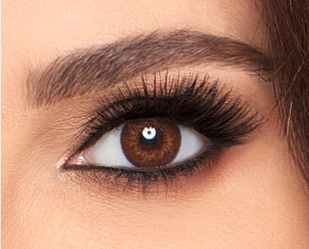 Air Optix COLORS - Brown - 2 lenses