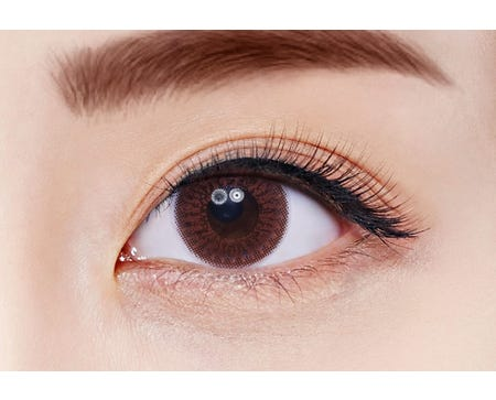 FreshKon Alluring Eyes Winsome Brown - 2 lenses