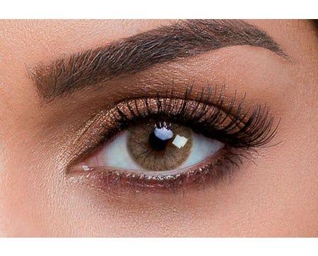 Aquarella Sienna Brown - pack of 10 lenses