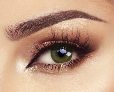 Bella Diamond - Caribbean Green - 2 lenses