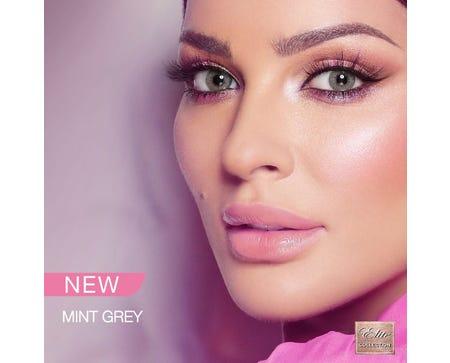 Bella Elite - Mint Gray - 2 lenses