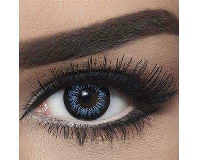 Bella Snow White - Blue - 2 lenses
