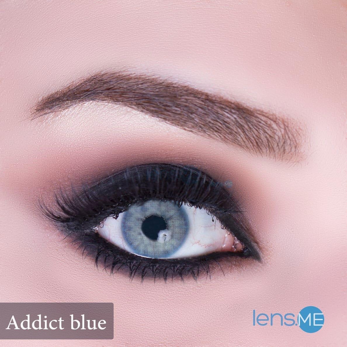 Anesthesia Addict Blue | 2 contact lenses | USA, UAE, UK ...