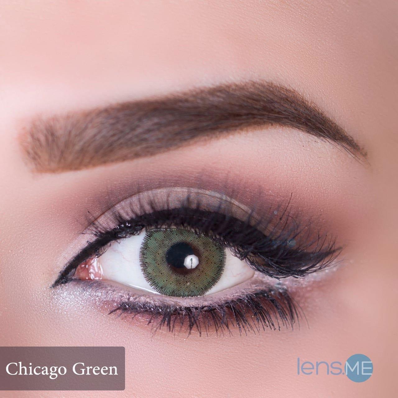 Color contact lenses online shop - Anesthesia Usa Chicago Green 2 Lenses