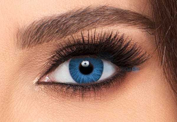 Freshlook Colorblends Brilliant Blue Colored Contacts