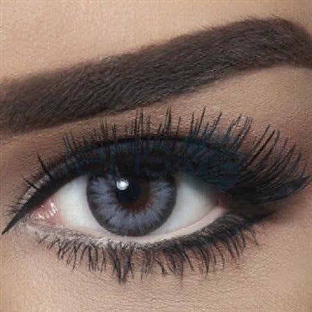 Bella Diamond Collection - Bella Glitter Gray colored contact lenses