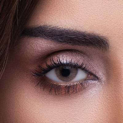 Anesthesia Addict Castano color contact lenses