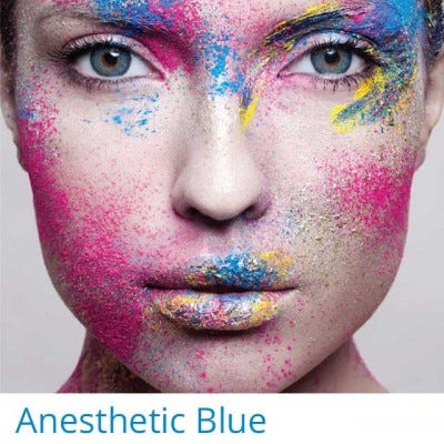 Anesthesia Anesthetic Blue - 2 lenses