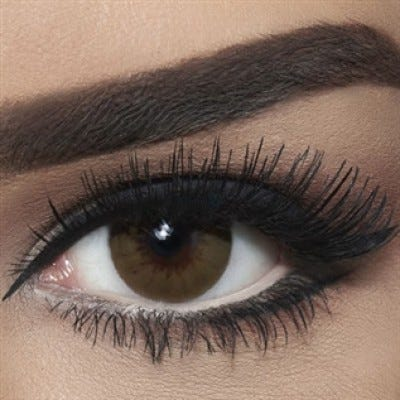 Bella Diamond Collection - Bella Brown Shadow colored contact lenses