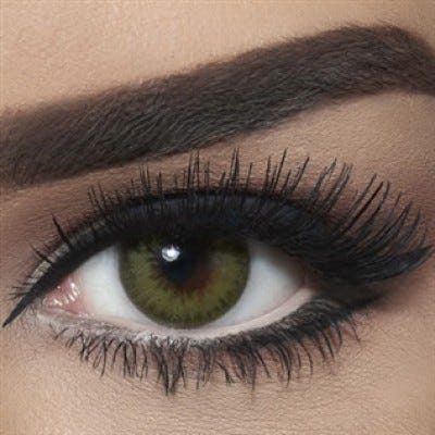 Bella Diamond Collection - Bella Carribean Green colored contact lenses