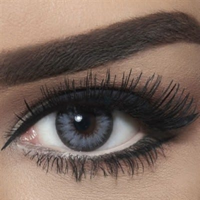 Bella Diamond Collection - Bella Glitter Gray colored contact lenses