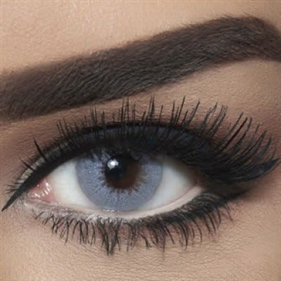 Bella Diamond Collection - Bella Gray Shadow colored contact lenses