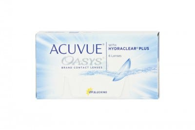 Acuvue Oasys with Hydraclear Plus - 6 lenses