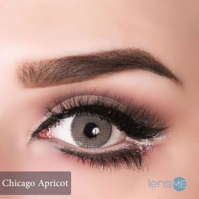 Anesthesia USA Chicago Apricot - 2 lenses