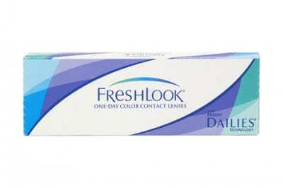 Freshlook Dailies / One Day Colorblends - colour contact lenses