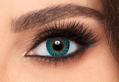 Freshlook Colorblends | Turquoise Colored Contact Lens