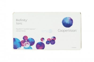 Biofinity toric - pack of 3 lenses