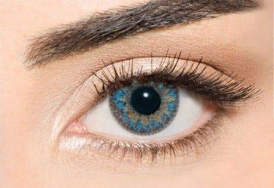 Waicon Trikolor - Blue Contact Lenses