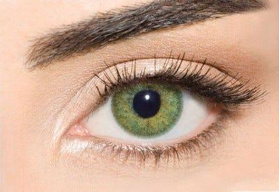Waicon Trikolor - Green Contact Lenses