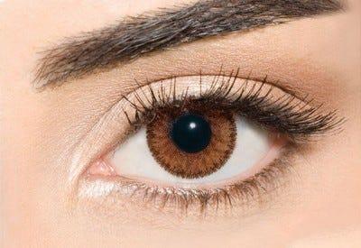 Waicon Trikolor - Stylish Brown Contact Lenses