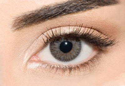 Waicon Trikolor - Stylish Gray Contact Lenses