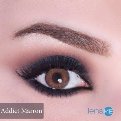 Anesthesia Addict Marron - 2 lenses