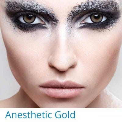 Anesthesia Anesthetic Gold - 2 lenses