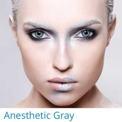 Anesthesia Anesthetic Gray - 2 lenses