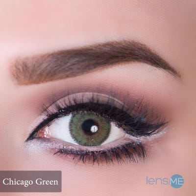Anesthesia USA Chicago Green - 2 lenses