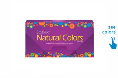 Solotica Solflex Natural Colors - colour contact lenses