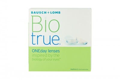 Bausch & Lomb Biotrue ONEday contact lenses