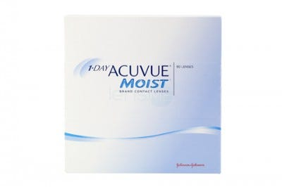 1-Day Acuvue Moist daily contact lenses