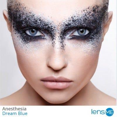 Anesthesia Dream Blue contact lenses