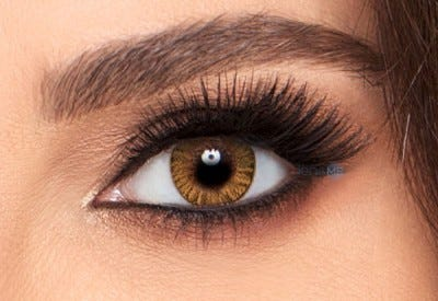 Freshlook Colorblends | Honey Colored Contact Lens
