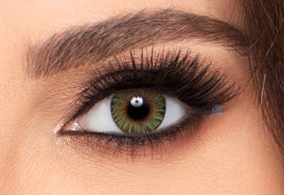 Freshlook ONE-DAY Green contact lens