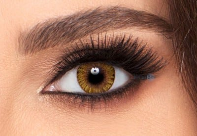 Freshlook ONE-DAY Pure Hazel contact lens