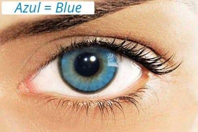 Solotica Hidrocharme Azul