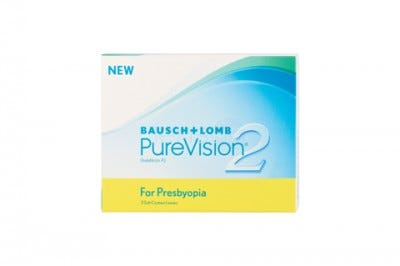 Purevision Multifocal bifokal contact lenses