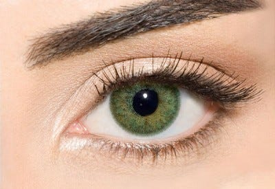 Waicon Trikolor - Dark Green Contact Lenses