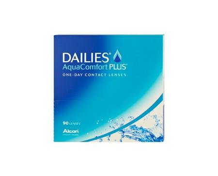 Dailies Aqua Comfort Plus - 90 lenses
