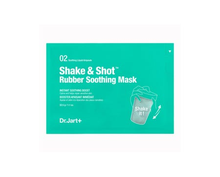 Shake & Shot Rubber Soothing Mask