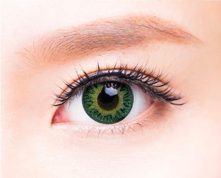 FreshKon Colors Fusion Groovy Green - 2 lenses