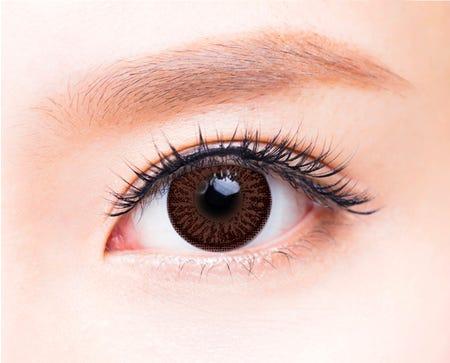 FreshKon Alluring Eyes Majestic Brown - 2 lenses