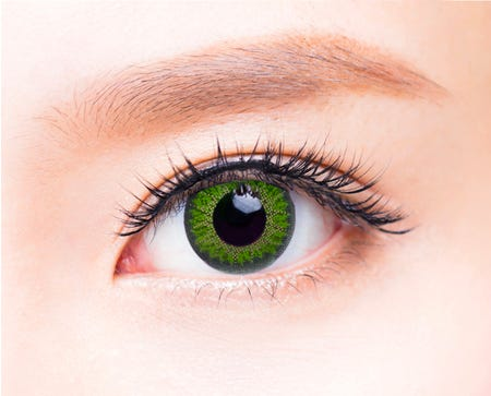 Freshkon Mosaic Luscious Green - 2 lenses
