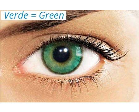 Hidrocharme Verde - by single lens