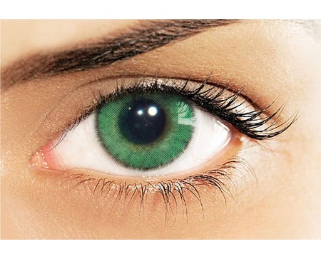 Natural Colors Verde - by single lens