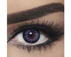 Bella Snow White - Violet - 2 lenses
