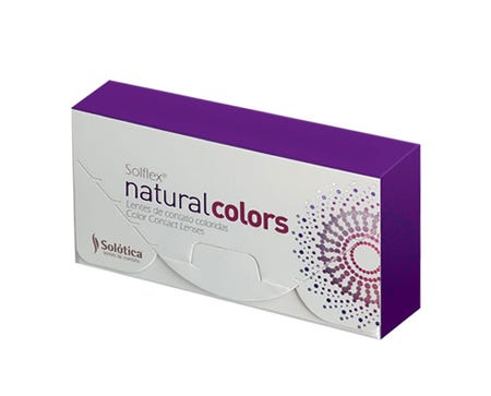 Solflex Natural Colors Monthly - Cristal - 2 lenses