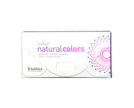 Solflex Natural Colors Monthly - Verde - 2 lenses