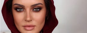 Eid Makeup Looks With Colored Contact Lenses